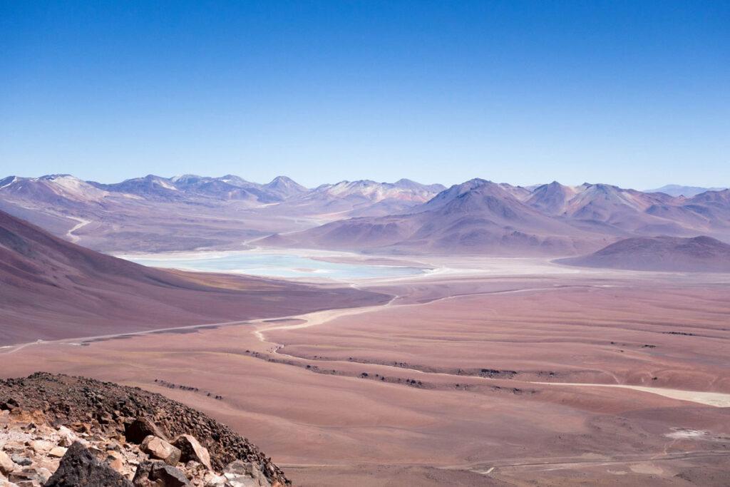 チリ(アタカマ砂漠)