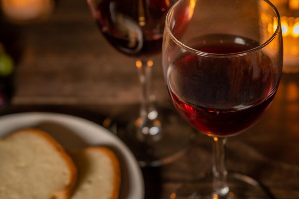 ワインとラスク(プロフ)